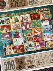 True South Puzzle: Christmas Traditions