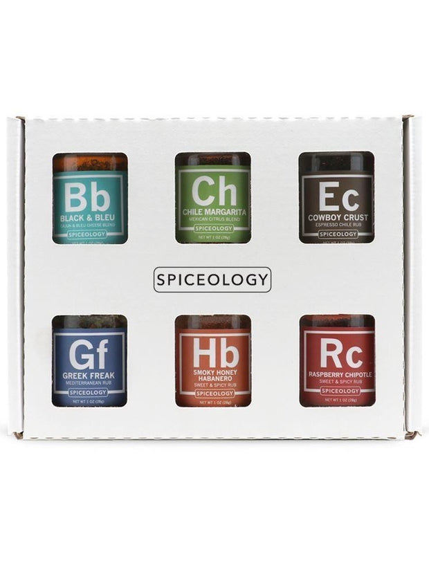 Spiceology: Mini Rub Set