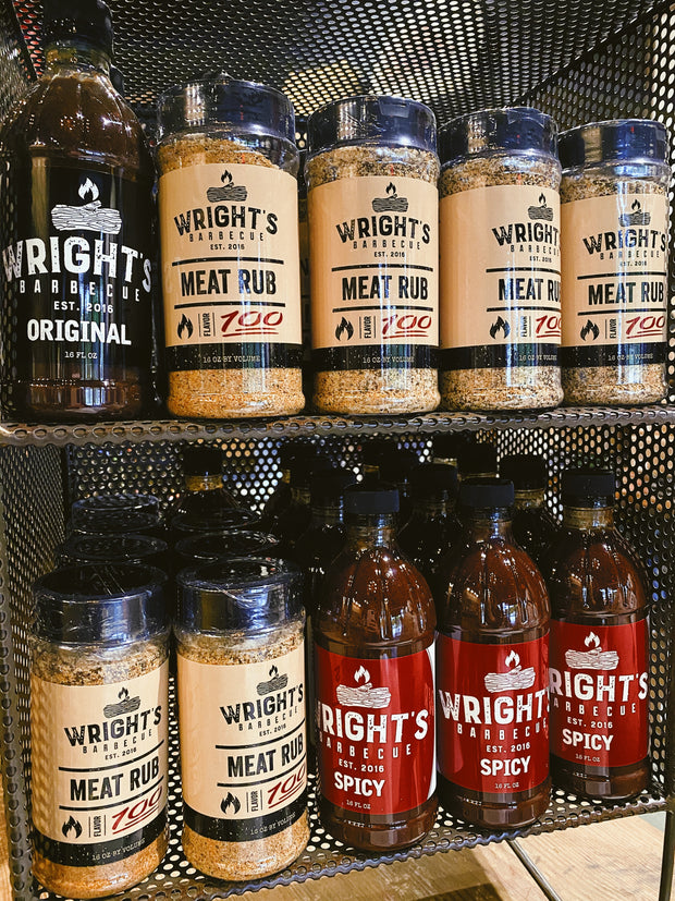 Wright's BBQ: Sauce - Spicy