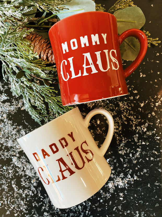 The Claus Mugs