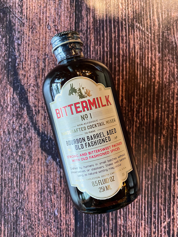 Bittermilk: Bourbon Barrel-aged Old Fashioned Syrup
