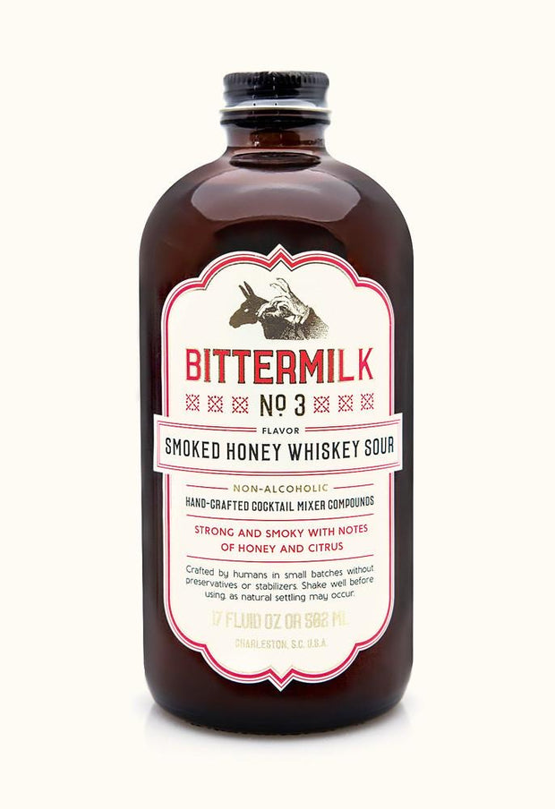Bittermilk: Smoked Honey Whiskey Sour