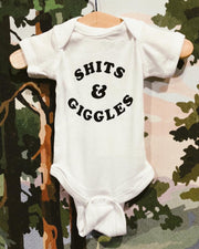 The Bee & The Fox: Shits & Giggles Onesie