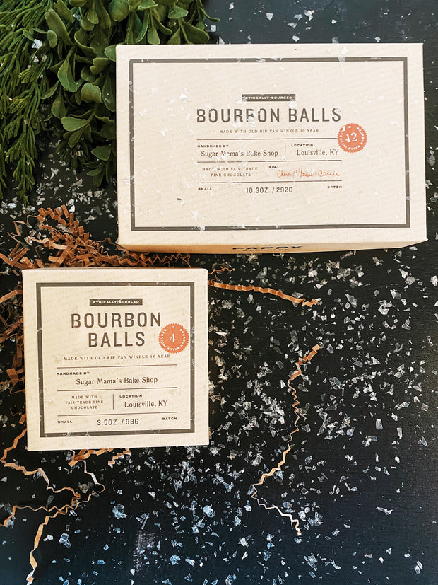 Pappy & Co: Handmade Bourbon Balls - Pack of 12