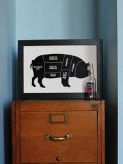 Old Try: Whole Hog Print - 13x20