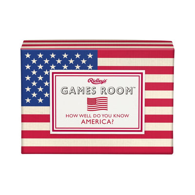 Ridley's How Well Do You Know America Trivia Game