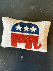 Republican Logo Hook Pillow