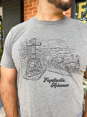 Mt Sequoyah Views Tee - City Supply