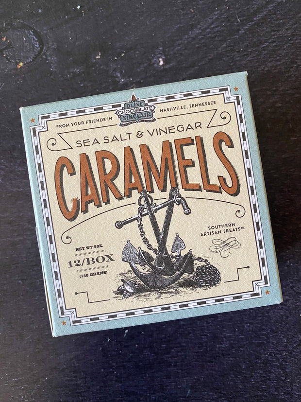 Olive & Sinclair: Caramels - Salt and Vinegar