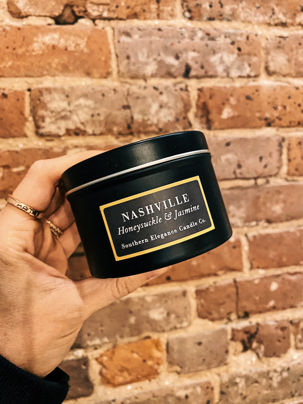 Southern Elegance Candle Co.: Travel Tin - Nashville