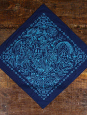 Good & Well Supply Co.: Take a Hike Bandana - Navy