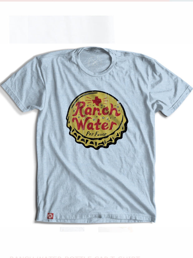 Ranch Water Bottle Cap T-Shirt