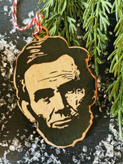 Abraham Lincoln Ornament