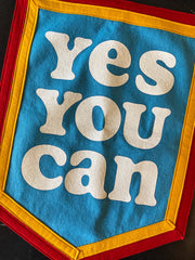 Oxford Pennant x Kelle Hampton: Yes You Can Camp Flag