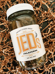 JED's Finest: Sweet Cured Jalapeños