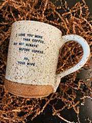 Sugarboo & Co: XO Mug - Your Wife
