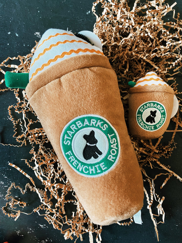 Starbarks Frenchie Roast w/ Straw - Small