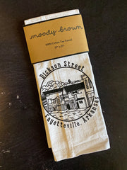 Moody Brown: Tea Towel - Dickson Street