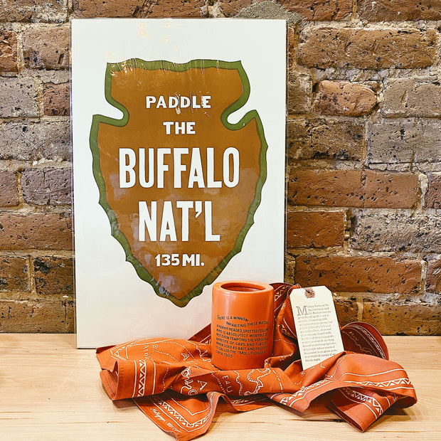 Float the buffalo gift set.