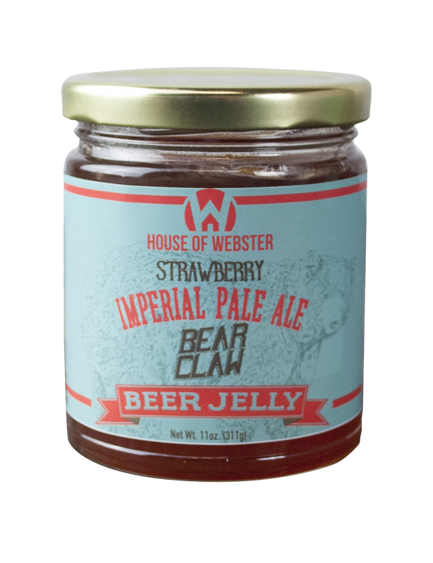 House of Webster: Strawberry IPA Beer Jelly