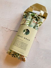 Neck Wrap Therapy Pack - Ivory Print
