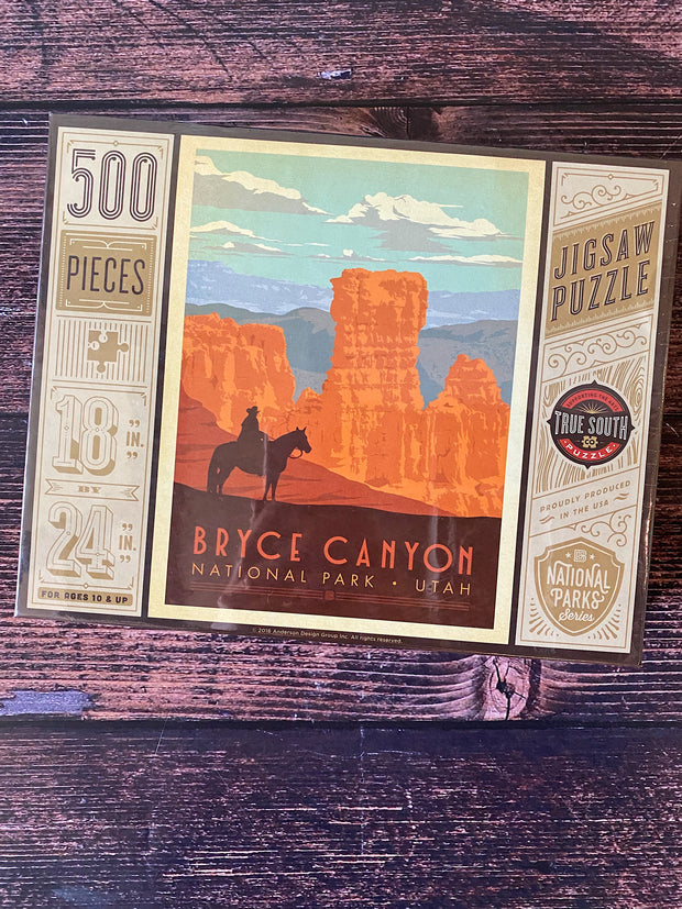 True South Puzzle: Bryce Canyon