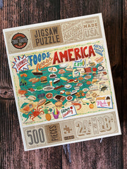 True South Puzzle: Foods Across America