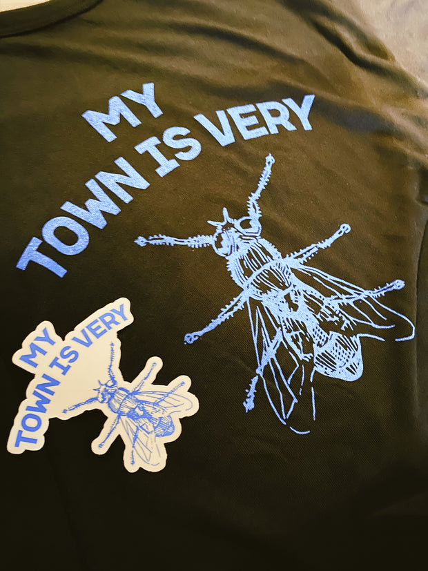 My Town Is Fly Tee - City Supply