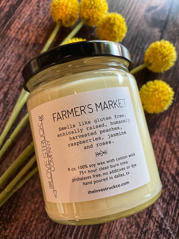 Lovestruck Co - Farmer's Market candle