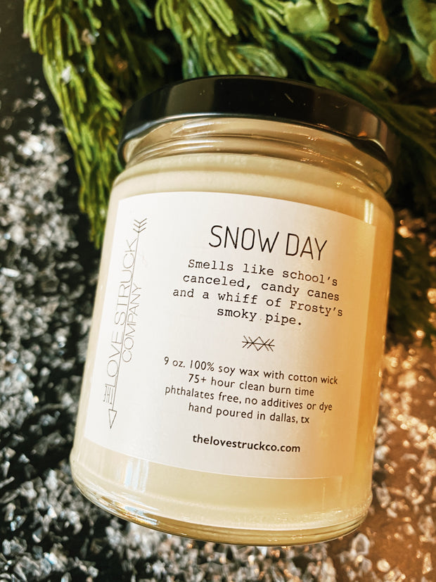 Lovestruck Co: Snow Day Candle