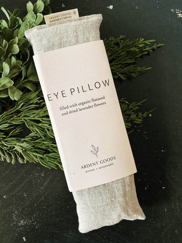 Linen Eye Pillow - Flax