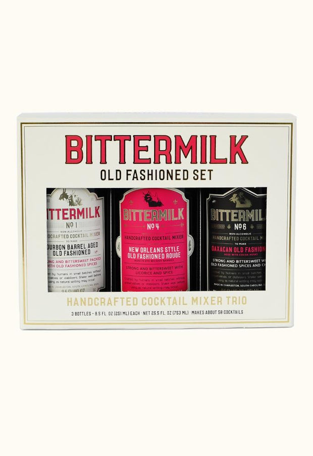 Bittermilk: Old Fashioned Set