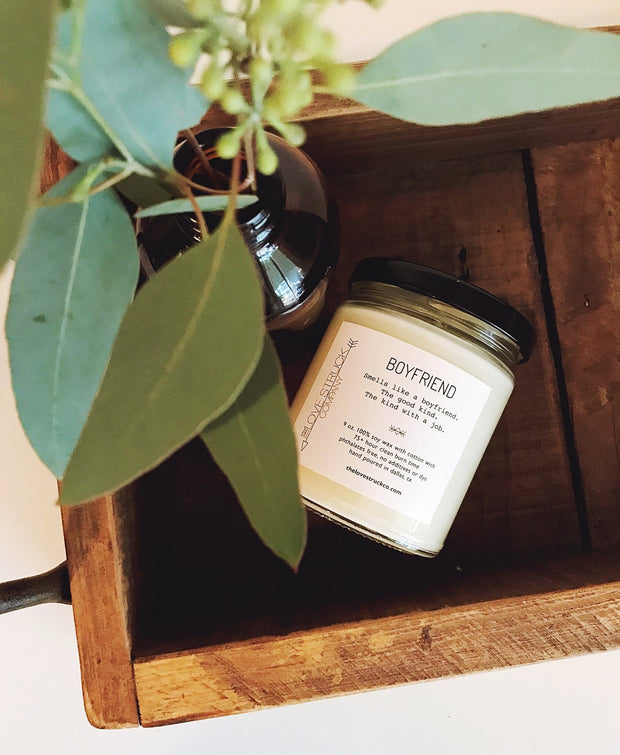 Lovestruck Co- Boyfriend soy candle