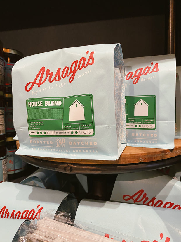Arsaga's Coffee Roasters: House Blend