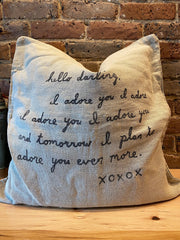Sugarboo & Co: Hello Darling Pillow