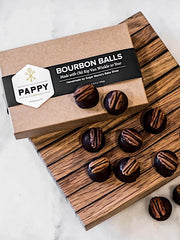 Pappy & Co: Handmade Bourbon Balls (pack of 12)