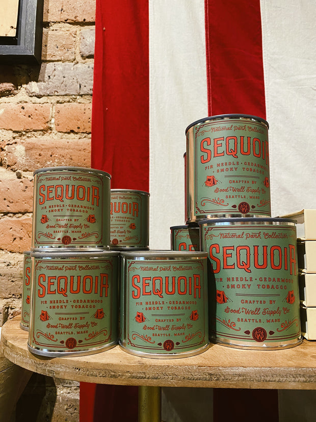 Good & Well Supply Co. - Sequoia Candle - Fir, Cedarwood & Smoky Tobacco