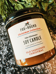 Old Fashioned Christmas Candle