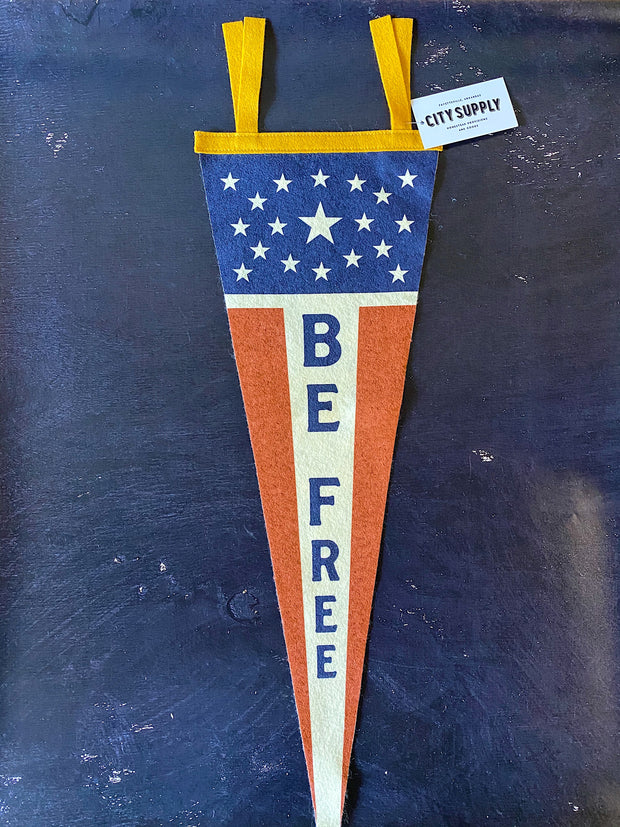Oxford Pennant: Be Free Pennant