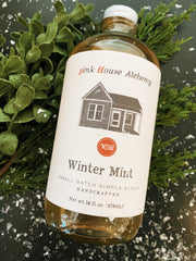 Pink House Alchemy: Winter Mint Syrup