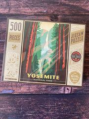 True South Puzzle: Yosemite