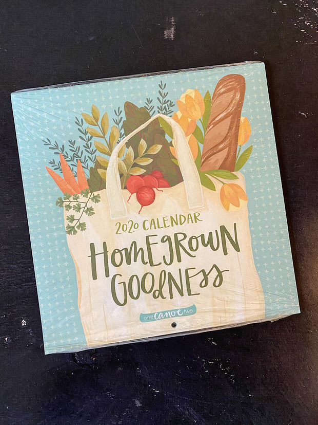 One Canoe Two: 2020 Homegrown Goodness Calendar