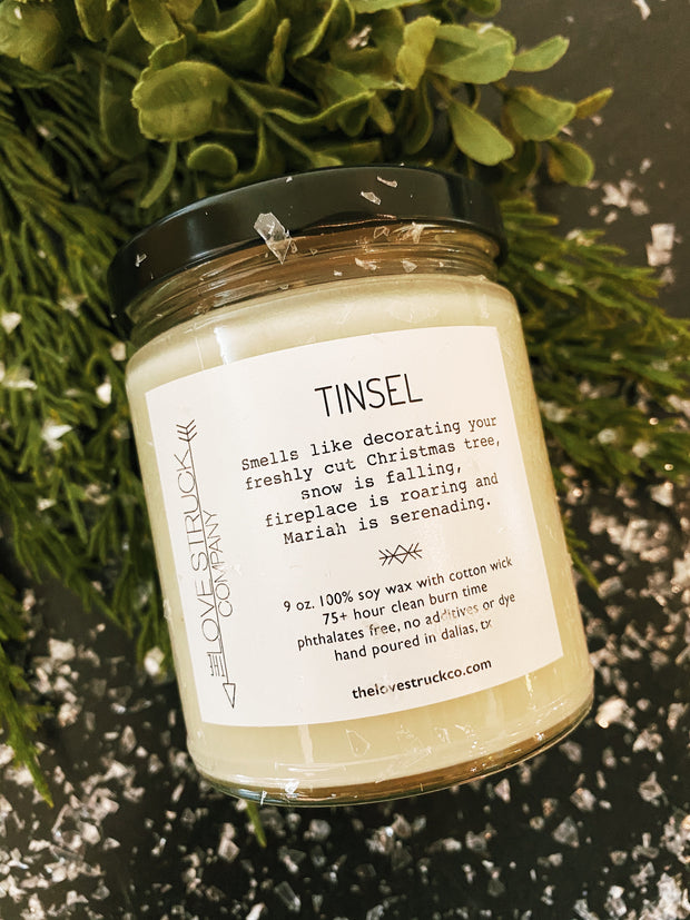 Lovestruck Co: Tinsel Candle