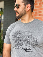 Mount Sequoyah Views T-Shirt (City Supply Exclusive)