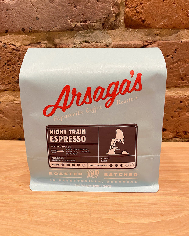 arsaga's 12oz night train
