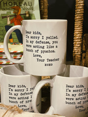 Love, Your Teacher Mug