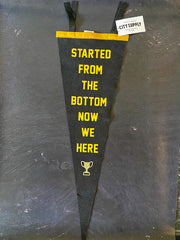Oxford Pennant: Started From The Bottom
