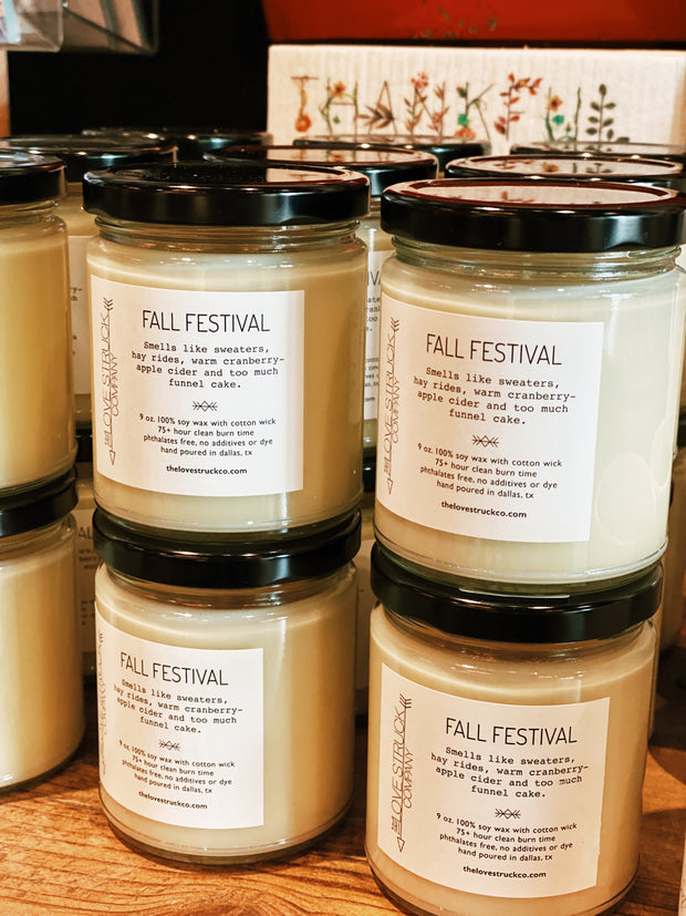 Lovestruck Co: Fall Festival Candle