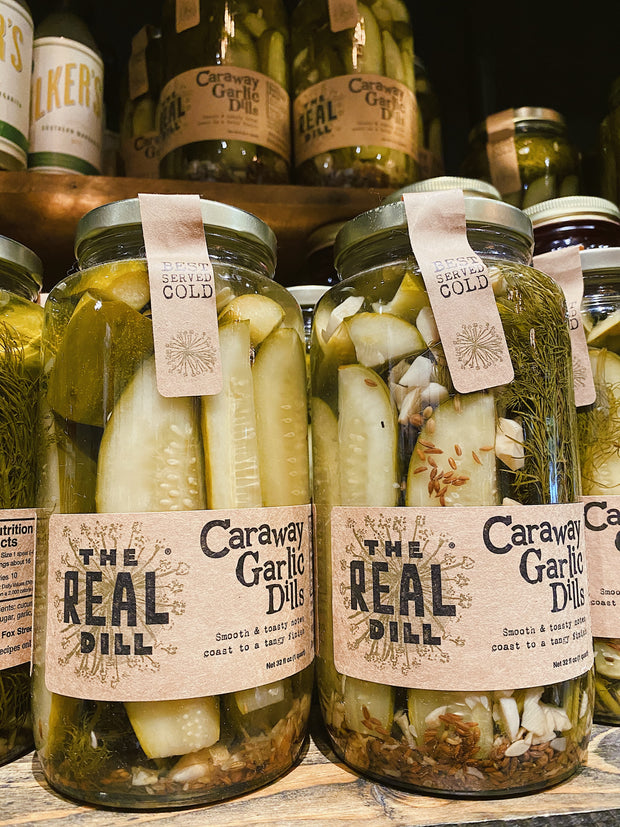 Real Dill: Caraway Garlic Dill Pickles