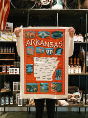 Arkansas Icons Towel